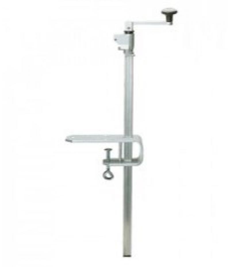 Staart-Blikopener H.55cm RVS Clou