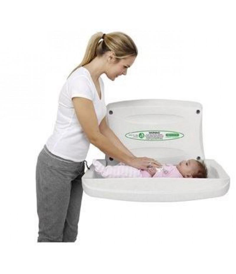 Baby Verzorgingstafel Horizontaal Kleur Wit