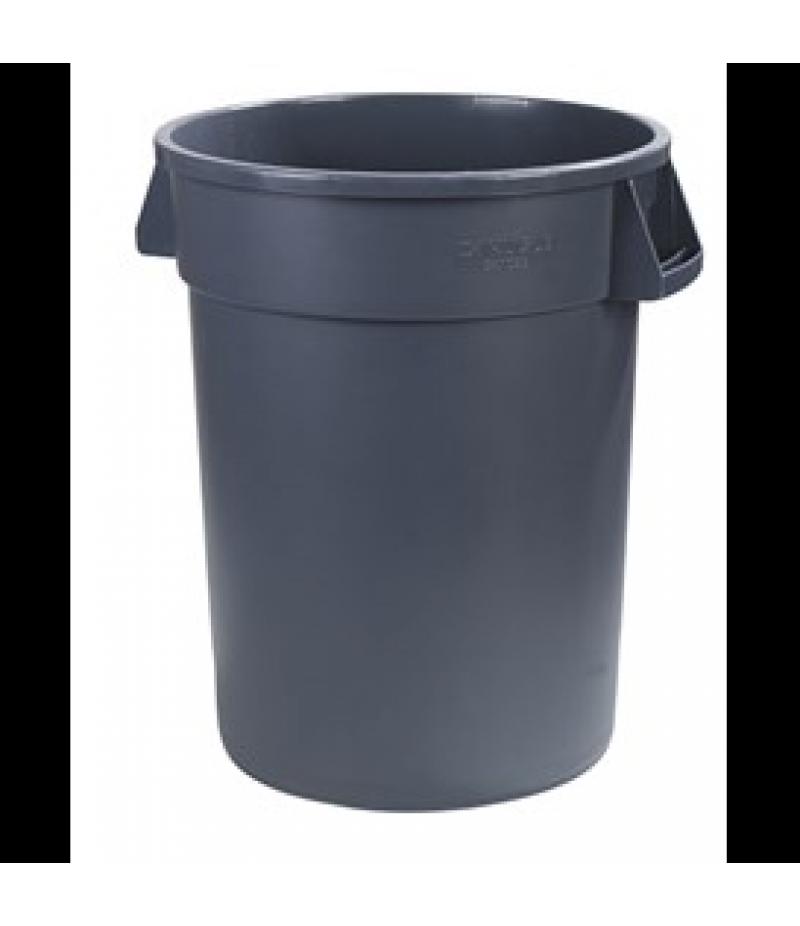 Afvalbak Carlisle Bronco 58.5cm 76L Grijs Polyethyleen