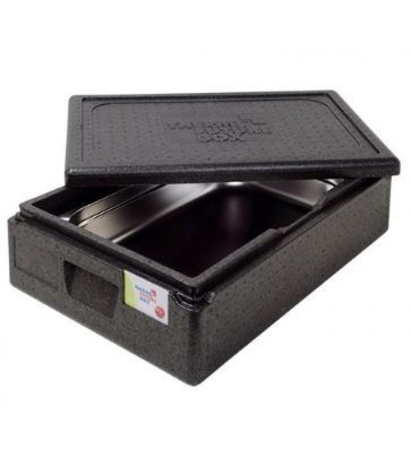 Isoleerbox (cap.GN1/1-150mm) Zwart Thermo Future Box