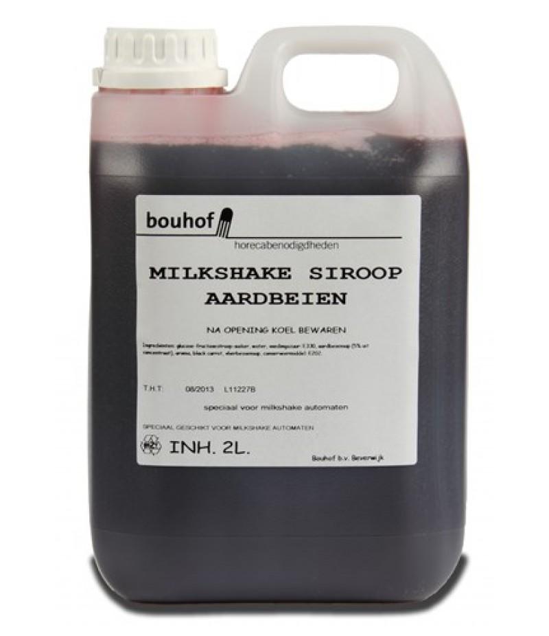 Bouhof Milkshake Aardbei 2 Liter