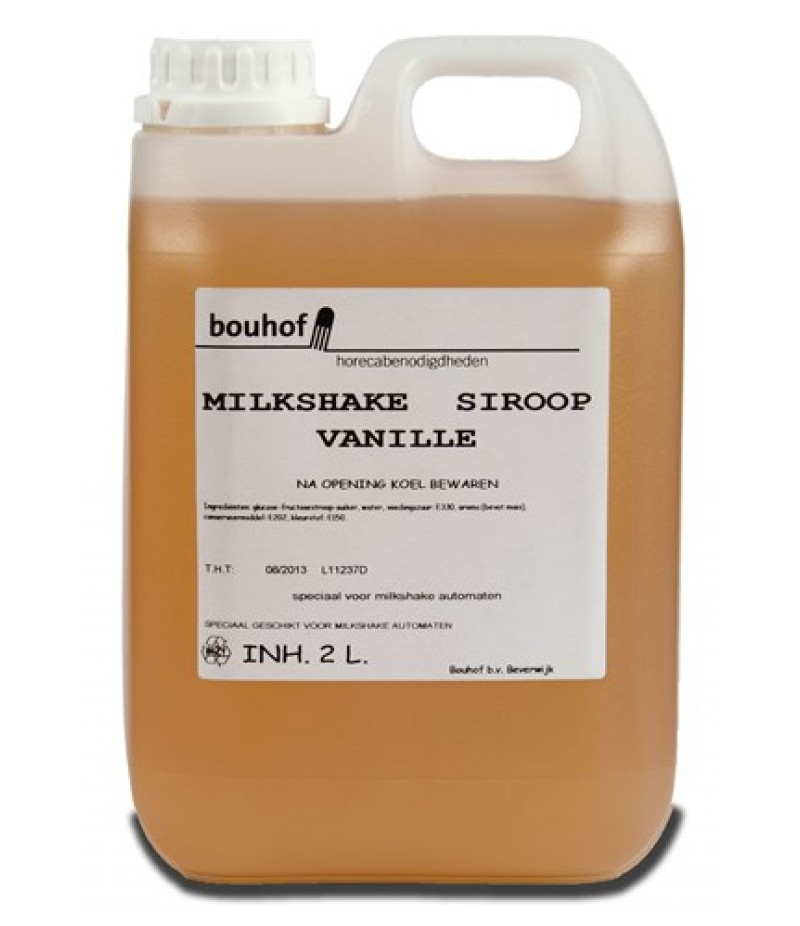 Bouhof Milkshake Vanille 2 Liter