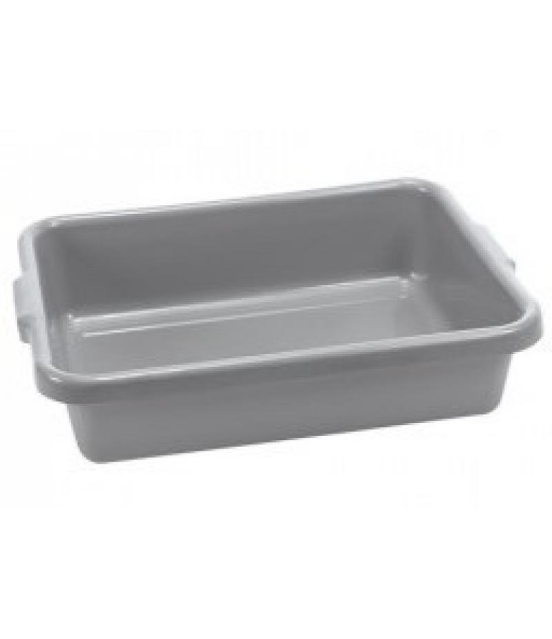 Afruimbak Polyethyleen Grijs Met Grepen 25 Liter