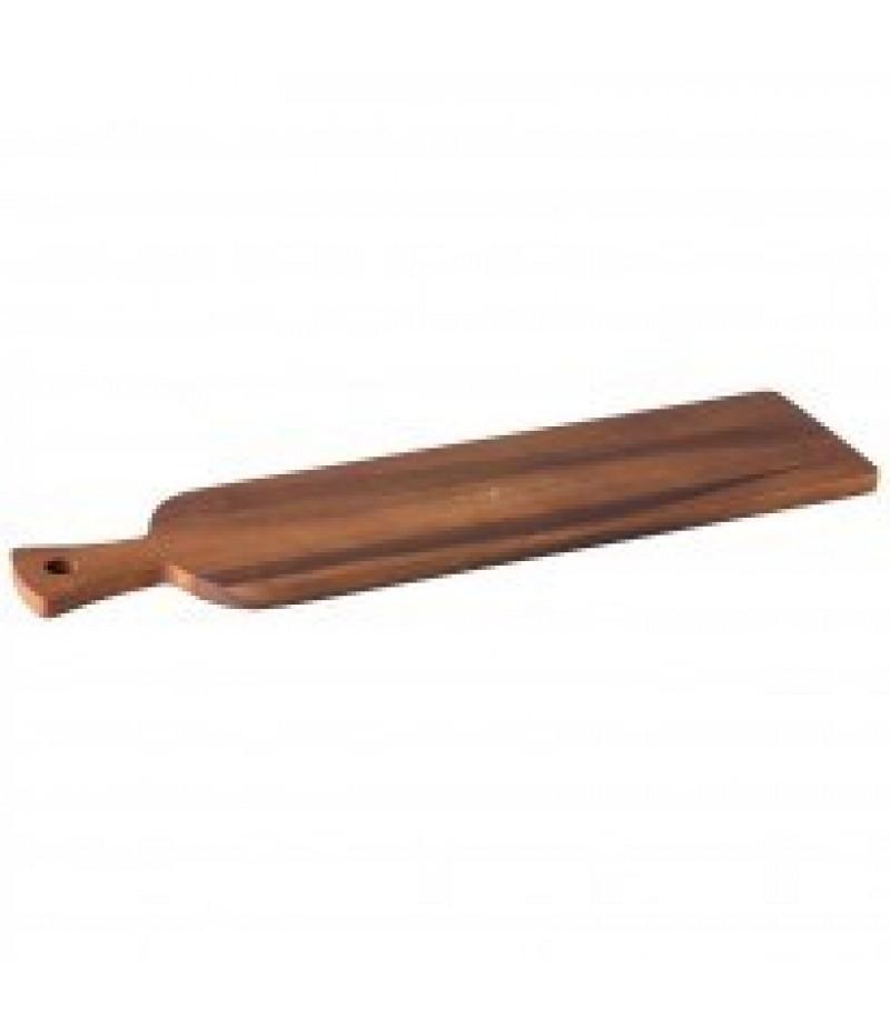 Acacia Brood Plank/Plateau Met Handvat 60x15x1,5cm