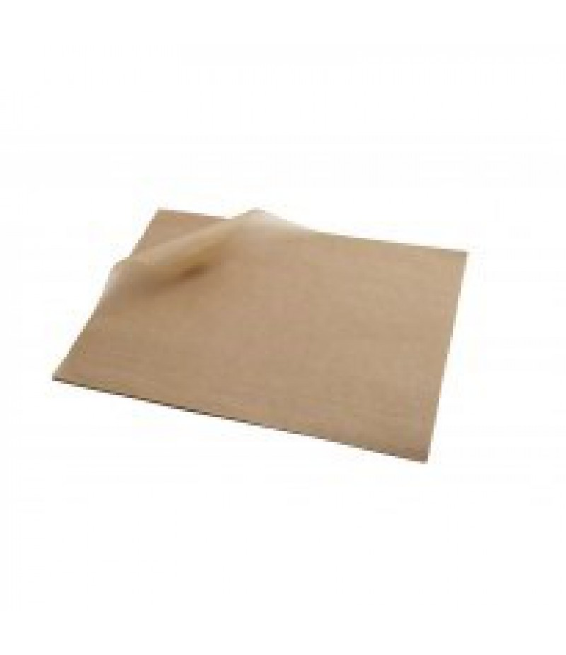 Vetvrij Papier Bruin 25x20cm 1000 Stuks