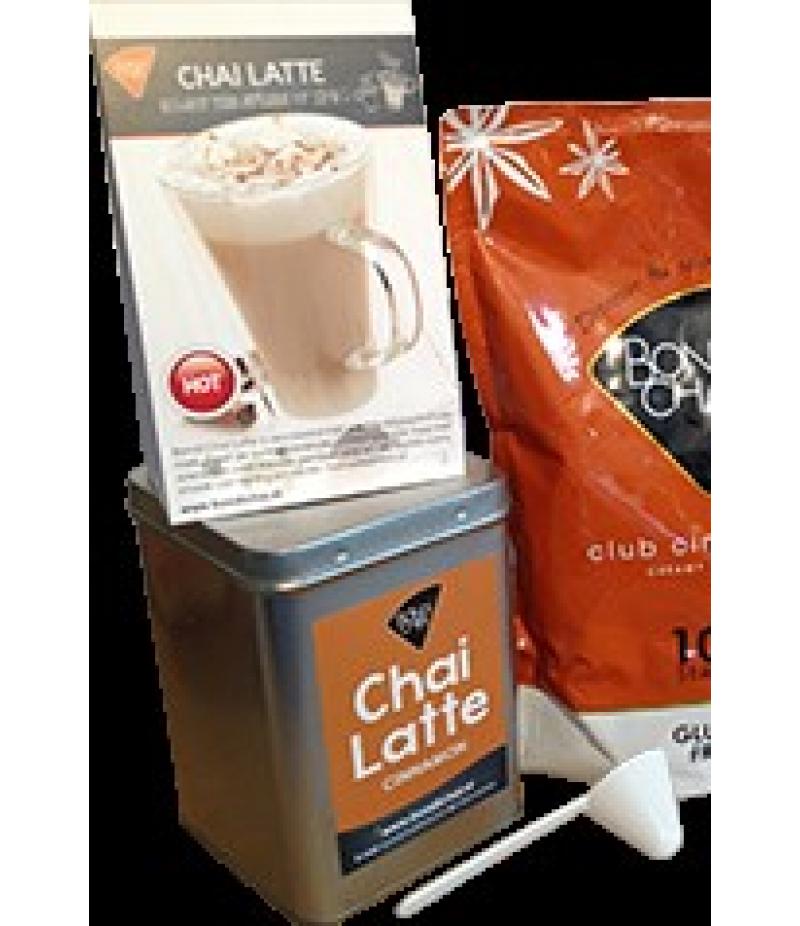 Latte Mix Matcha Blik 200 gram Bondi Chai