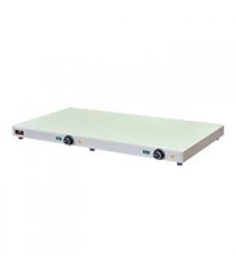 Warmhoudplaat 100x050cm RVS 1200W CaterChef