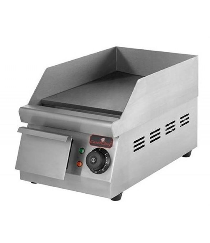 Bak/Grillplaat (25x33cm-Glad) Elektrisch CaterChef