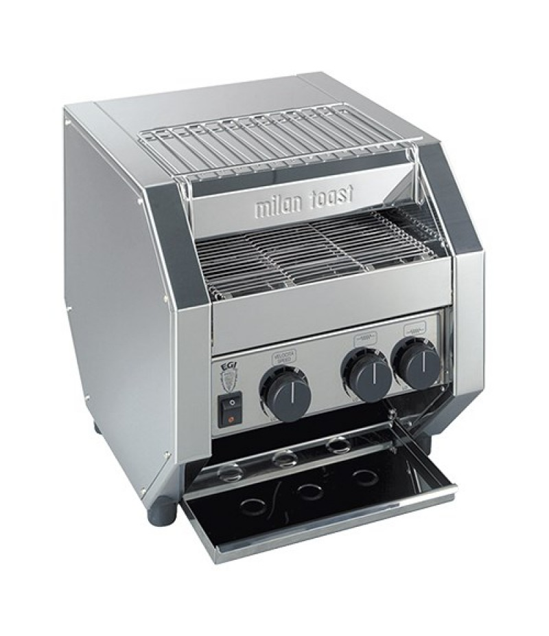 Toaster Conveyor (cap.500st.) RVS 1700W MilanToast
