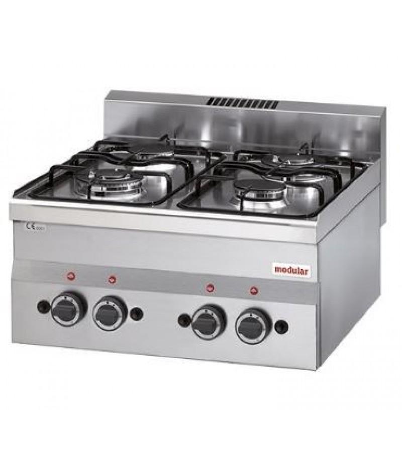 Kooktoestel Aardgas (cap.4st.) FU 60/60 PCG/P Modular