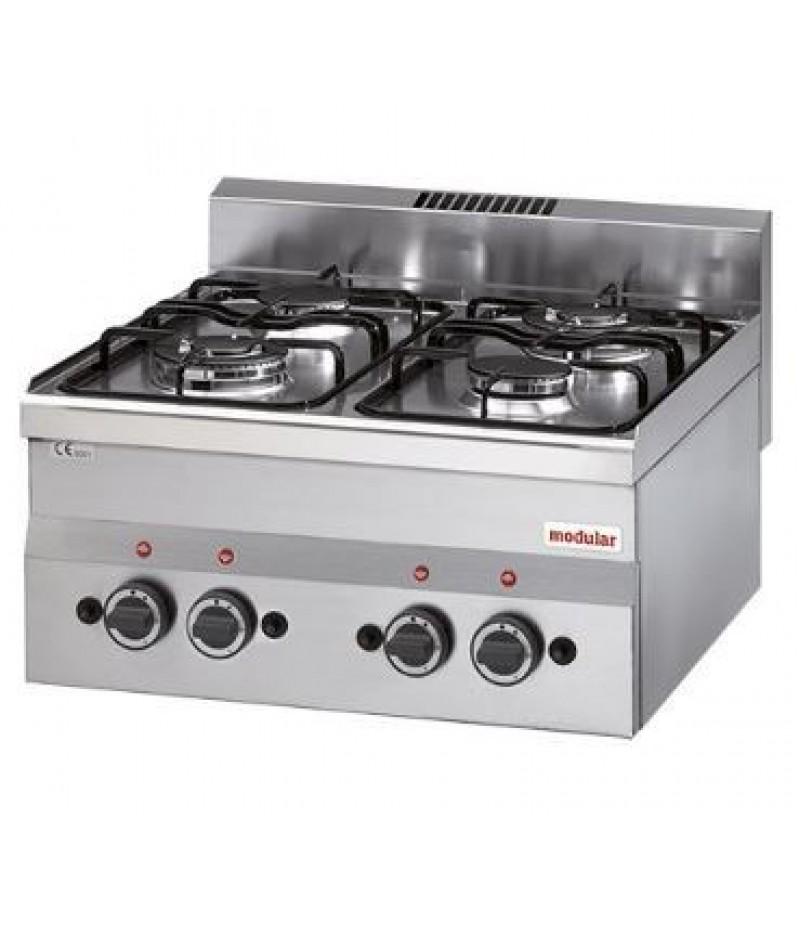 Kooktoestel Propaan (cap.4st.) FU 60/60 PCG/P GPL Modular