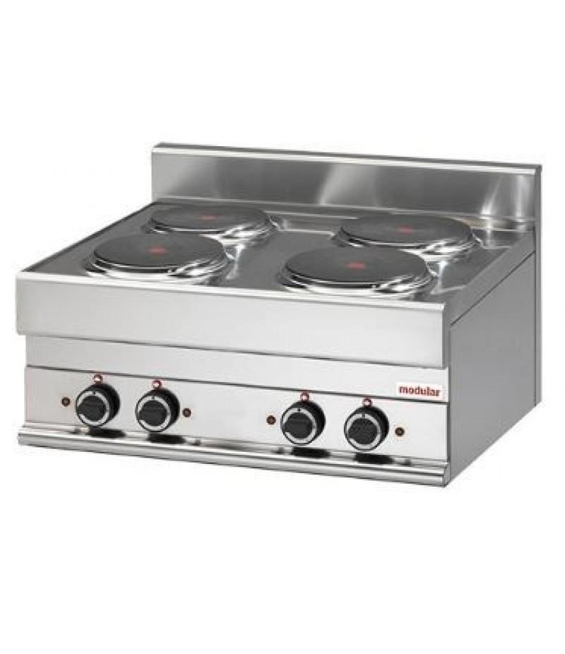 Kooktoestel (cap.4st.) Elektrisch 65/70 PCE 9600w Modular