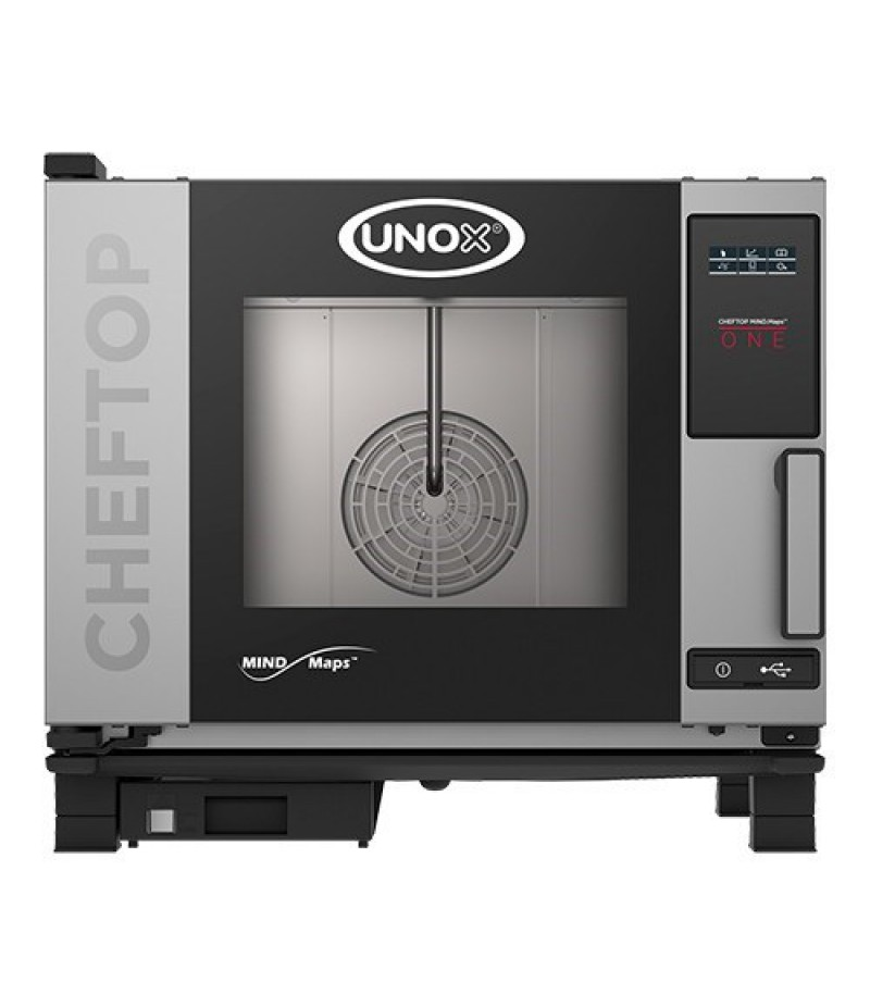 ChefTop (GN1/1)x05 MindOne RVS 7000W XEVC-0511-E1R Unox