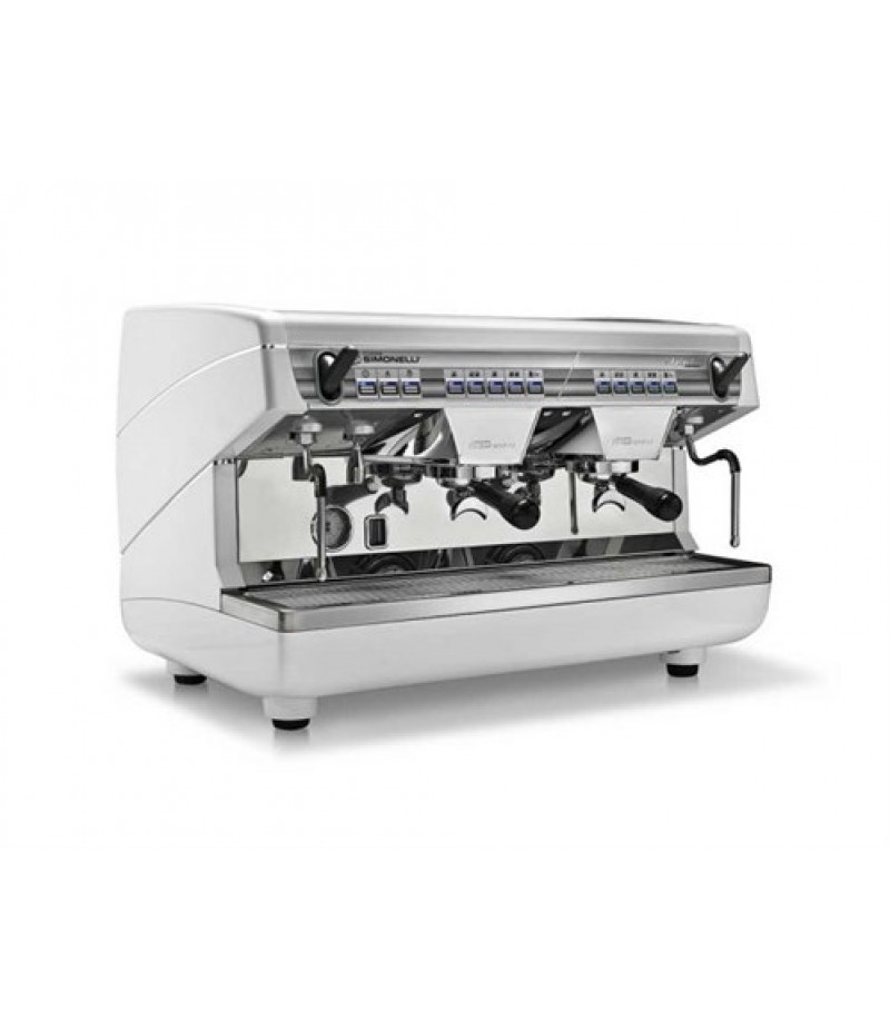 Koffiemachine Simonelli Appia 2-Groeps Pearl White