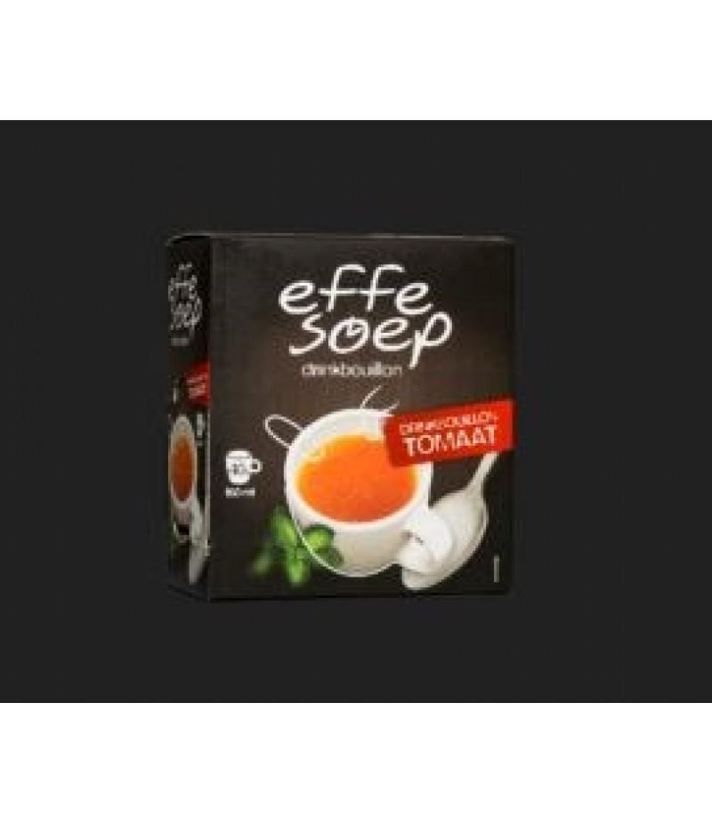 Effe Soep Drinkbouillon Pak 40 Sticks 160ml Tomaat