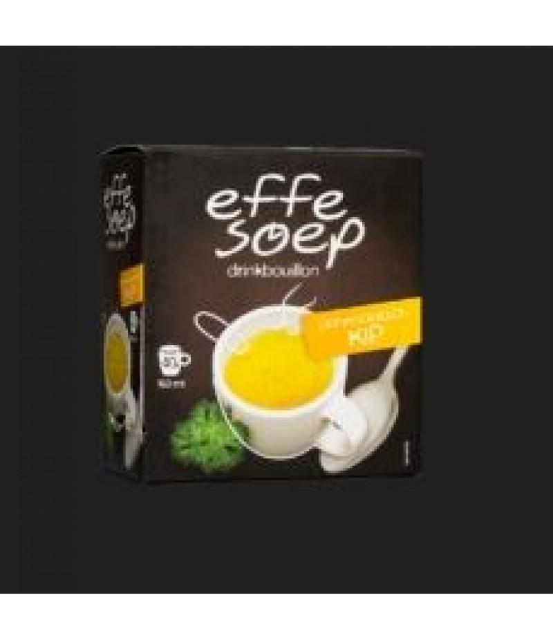 Effe Soep Drinkbouillon Pak 40 Sticks 160ml Kip