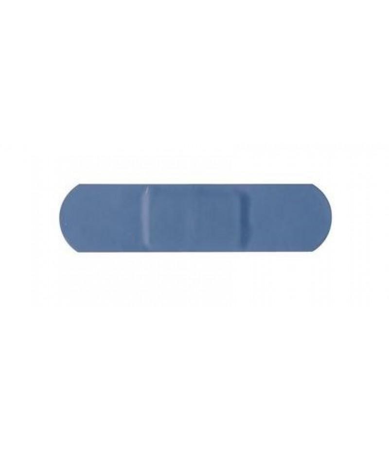 Pleister Standaard Blauw 100 Stuks