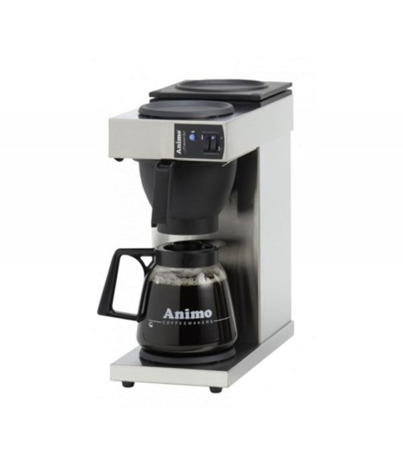 Animo Excelso Snelfilter Koffiemachine 1 Glazen Kan